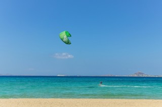 about naxos enosis apartments kitesurfing