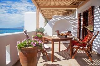 facilities enosis apartments balcony
