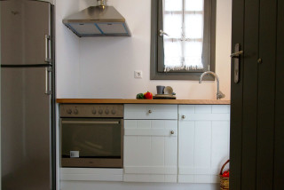 penthouse enosis apartments equipped kitchen